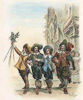 Dumas Three Musketeers 1894 DArtagnan Athos Aramis And Porthos From Alexandre Dumas The Three Musketeers Illustration By M...