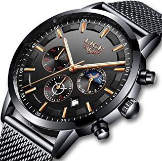 Best quartz watch black Reviews