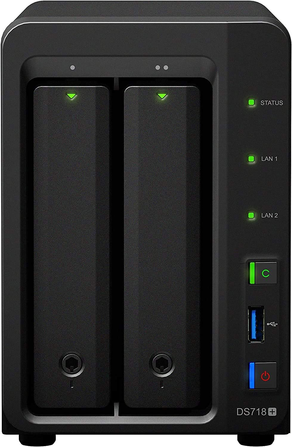 Synology Ds718 6gb Nas 32tb Ironwolf Computers Accessories
