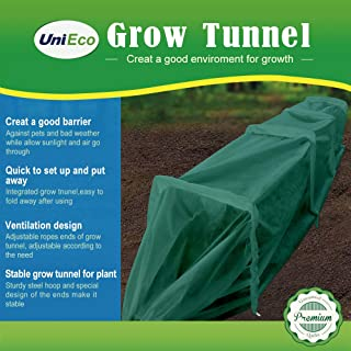 UniEco Grow Tunnel Garden Tunnel Minni Greenhouse Fleece Tunnel 59