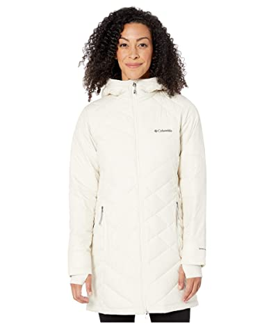 Columbia Heavenly Long Hooded Jacket (Chalk) Women