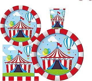Circus Carnival party Horse Plates 8 Circus Stallion Plates Circus Themed Party Circus Party Decorations Circus Birthday Circus Plates
