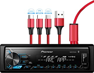 Pioneer MVH-X390BT Digital Media Receiver with Pioneer ARC app, MIXTRAX, Built-in Bluetooth and USB Direct Control for iPo... photo