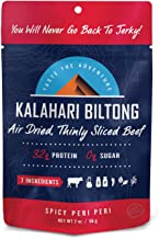 product image for Kalahari Biltong | Air-Dried Thinly Sliced Beef | Spicy Peri Peri | 2 oz (Pack of 8) | Sugar Free | Keto & Paleo | Gluten Free | Better Than Jerky