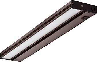NICOR Lighting 21-Inch Slim Dimmable 2700K LED Under Cabinet Light Fixture, Oil-Rubbed Bronze (NUC-4-21-DM-W-OB)