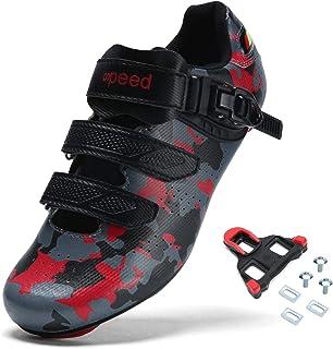 Sponsored Ad - BINSHUN Mens Cycling Shoes Road Bike Shoe Spin Biking Racing Bikes for Men
