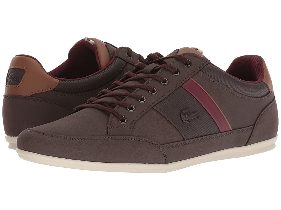 Lacoste Chaymon 318 2 (Dark Brown/Brown) Men