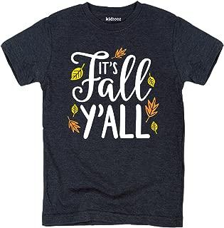 Its Fall Yall - Toddler Short Sleeve Tee