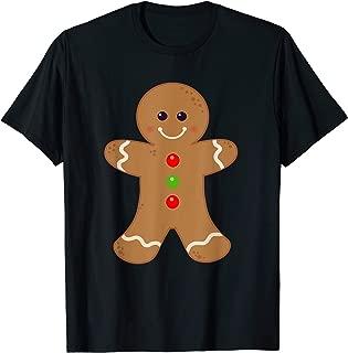 Gingerbread Man Shirt Christmas Cookie Baking Holiday Tee