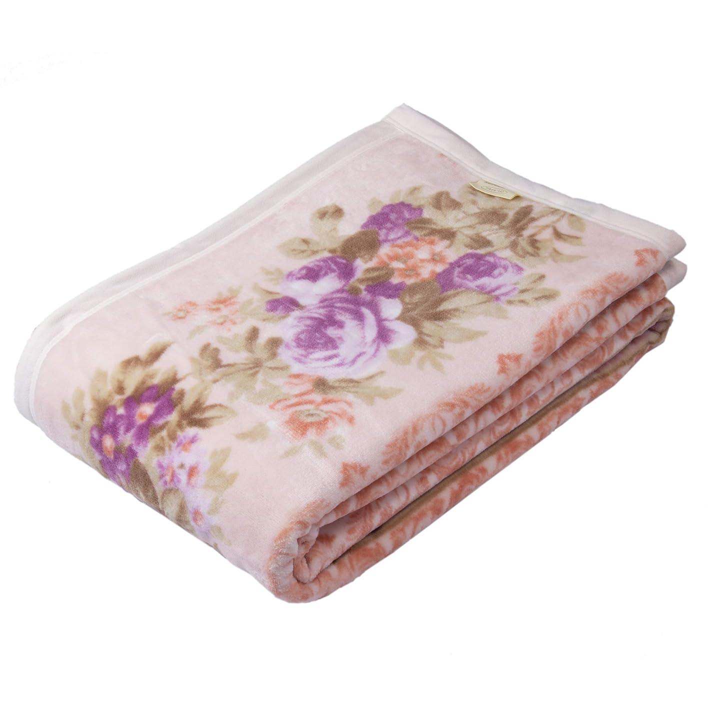 ピジンスイ生西川(Nishikawa) 綿毛布 ピンク シングル 綿100% 日本製 ふわふわ インダス綿 マイモデル FQ09061002P