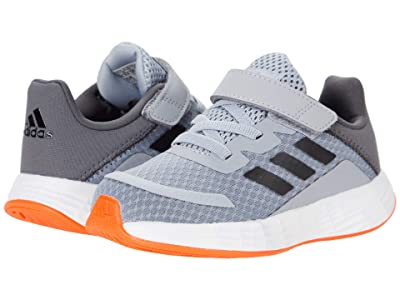 adidas Kids Duramo SL (Infant/Toddler) (Halo Silver/Iridescent/Solar Red) Kid