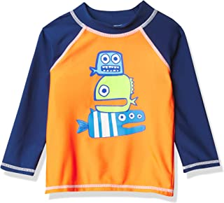 Flap Happy Baby Boys UPF 50+ Graphic Rash Guard Swim Top Rash Guard Shirt