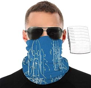 Pasamontañas para la cara y el cuello, a prueba de polvo, agradable al tacto, con filtro