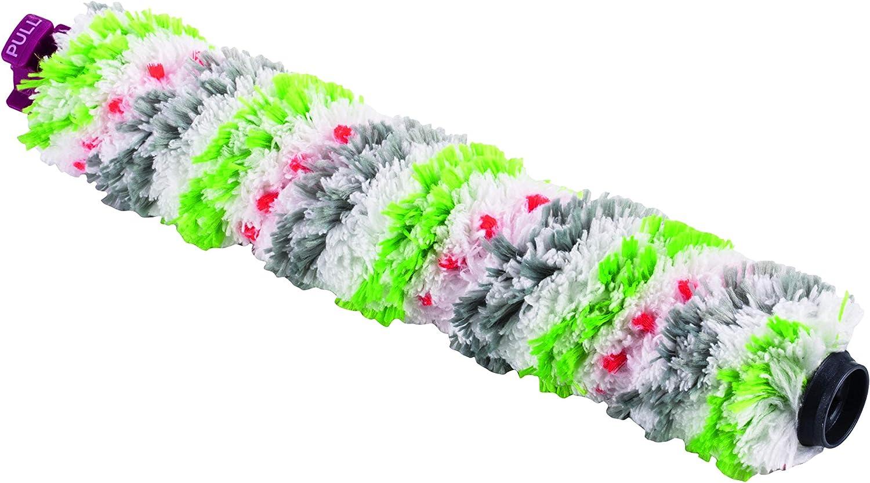 Bissell Cepillo multisuperficie Anti-enredos| Accesorio Original para CrossWave | 2519, Gris, Verde, Blanco y Rosa, 0.298m
