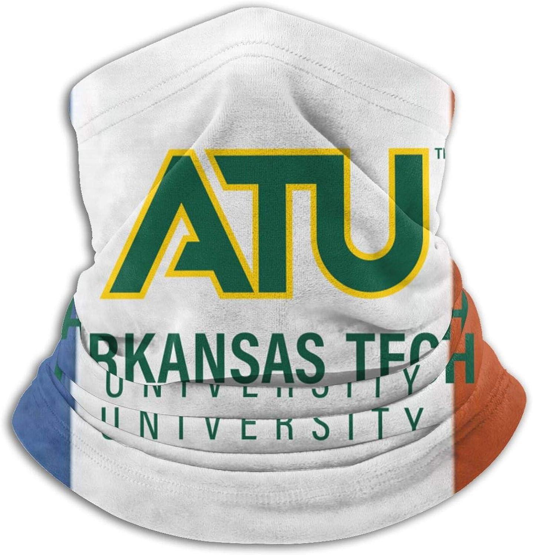 Arkansas Tech University Logo Unisex Comfort Microfiber Neck Gaiter Variety Scarf Face Motorcycle Cycling Riding Running Headbands.