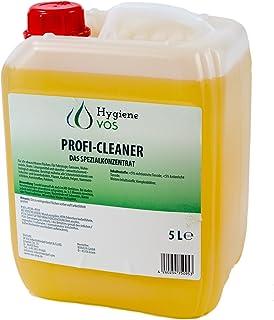 Hygiene VOS Nettoyant professionnel Concentré - Bidon de 5L Nettoyant universel pour maison, caravane, Camping-Car, batea...