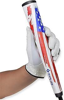 SAPLIZE Golf Putter Grip, Midsize, Lightweight Golf Grip, Pistol Shape Anti-Slip Pattern,..