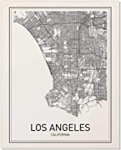Los Angeles Map, City Map Posters, Los Angeles Print, California Print, California Map, Los Angeles Poster, Black and White Map Print, Map Wall Art, Modern Map Art, Scandinavian Poster, 8x10