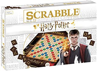 Scrabble World of Harry Potter Board Game | Official Scrabble Game Featuring Wizarding World Twist | Custom Harry Potter G...