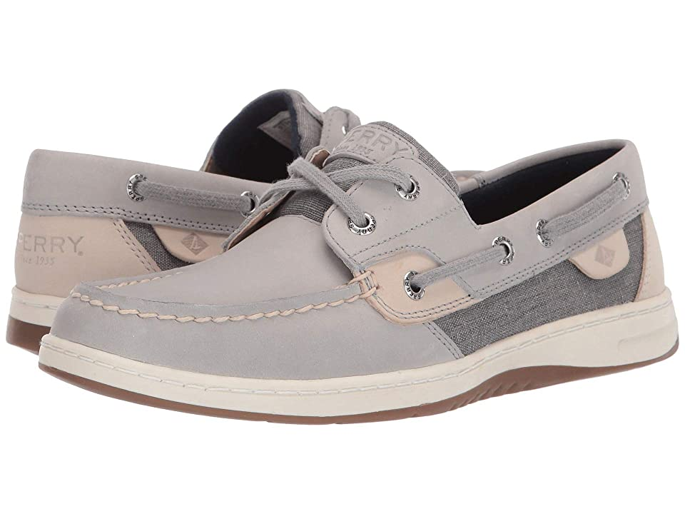 Sperry Bluefish Linen (Grey/Grey) Women