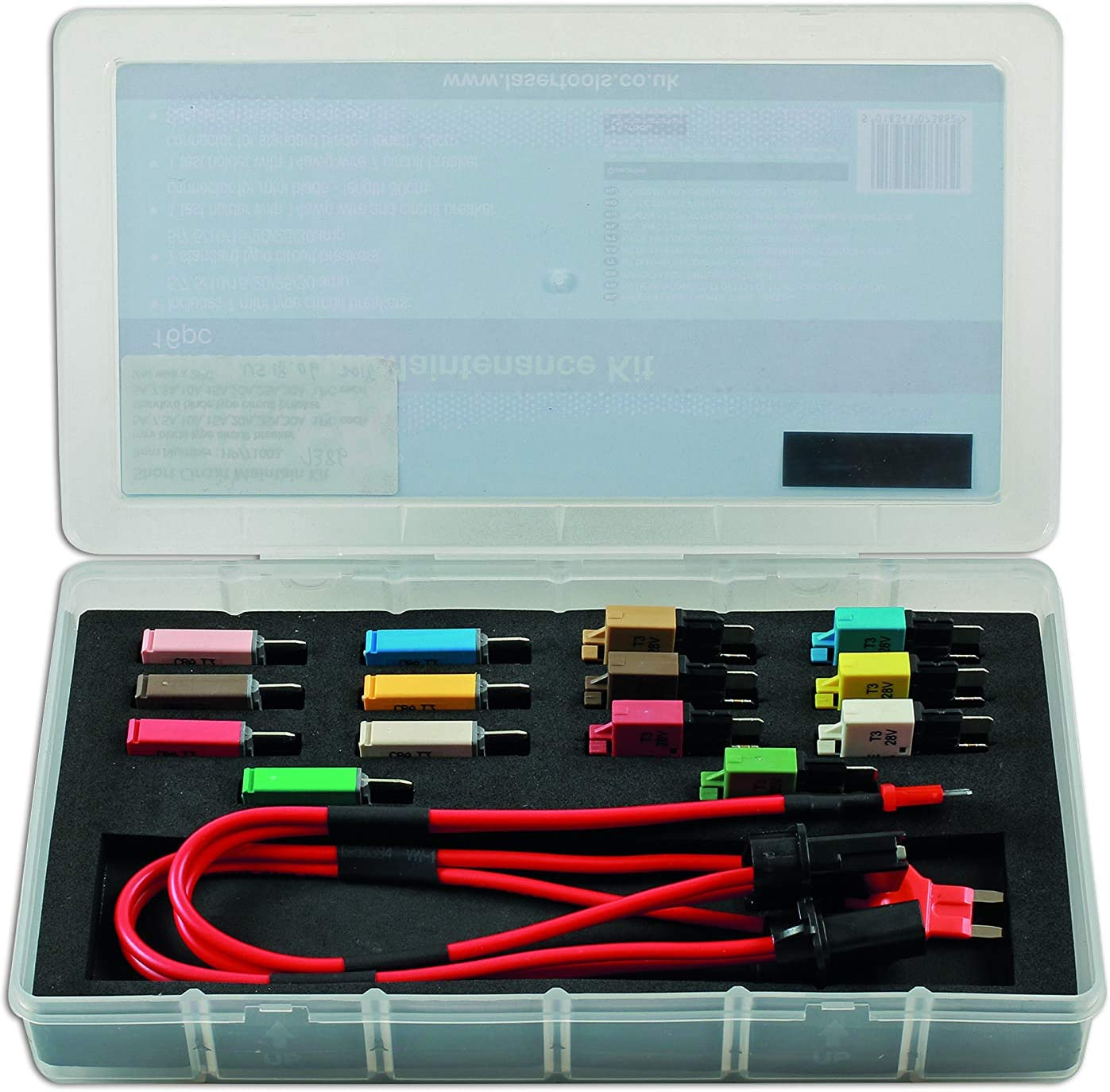 Laser Max 78% OFF 7386 Short Circuit 16pc Kit Diagnostic Max 73% OFF