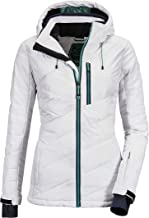 Killtec Savognin Wmn gewatteerde jas voor dames, donslook, met afritsbare capuchon en sneeuwvanger