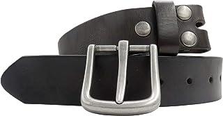 Men's Genuine Leather Belt Cowhide Strap Full Grain Removable Buckle Belts Jean