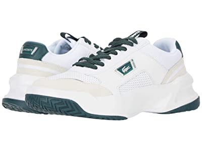 Lacoste Ace Lift 0120 2 (White/Dark Grey Green) Men