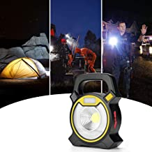 Camping Light Emergency Lighting Lantern LED Lights Work Light with USB Charging for Outdoor Hiking Cycling Fishing (4 Modes, Portable)