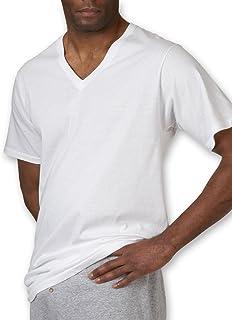 Jockey Men's T-Shirts Tall Man Classic V-Neck - 2 Pack