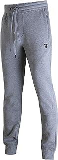 SCREENSHOT Sports Mens Premium Slim Fleece Pants Zipper Pockets - Athletic Jogger Fitness Workout Gym Sweatpants