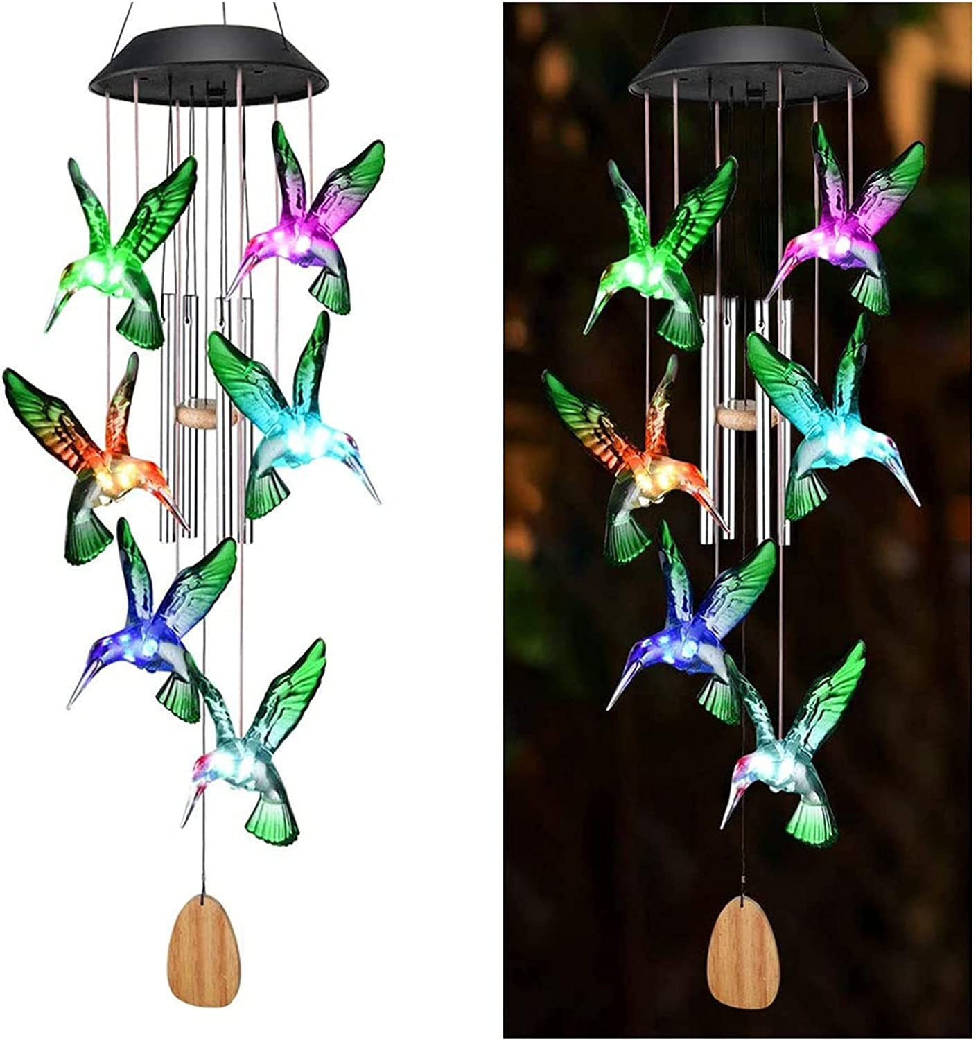 ZHXQ Hanging Solar All items in the store Hummingbird Wind Ranking TOP15 Chimes for Windows Suitable