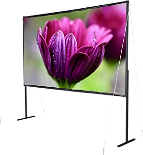 """celexon Basic line Folding Frame Screen 16:9, 80"""" - Frame Screen, Home Cinema and Outdoor Screen, Full HD with 1.18 inch B..."""