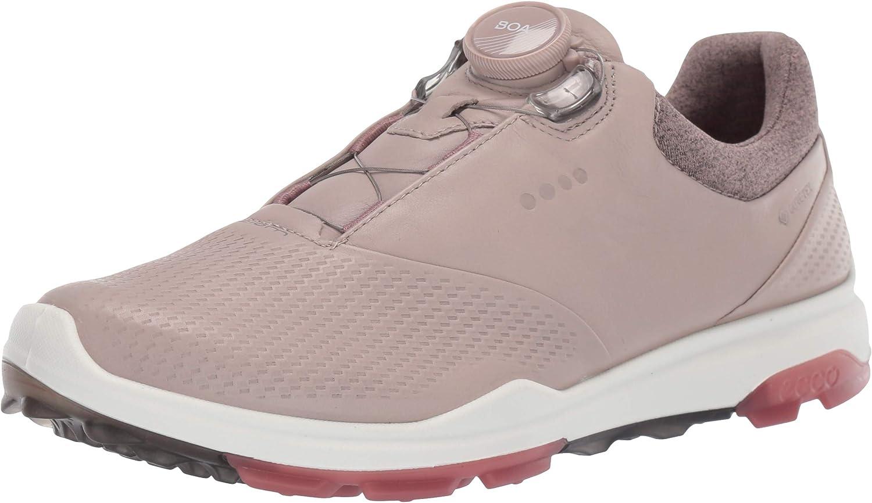 ECCO Women's Biom Hybrid 3 2021 spring and summer new Shoe Golf Long-awaited Gore-tex Boa