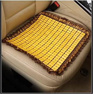 DKX Bamboo car seat cushion wood beads Square General car seat cover summer ventilation seat bamboo mat (Size : 1pcs)