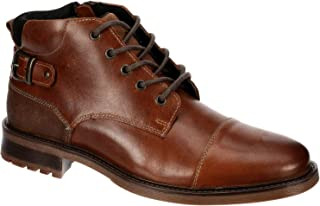 Franco Fortini Easton - Men's Leather Chukka Ankle Dress Boots