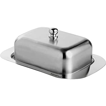 Stainless Steel Lid MERCIER Stainless Steel Butter Dish