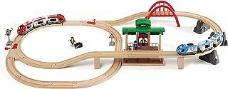 瑞典 BRIO 火车系列 电动火车豪华套装 BROC33512(3岁+)
