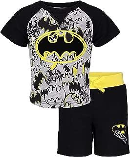 HIS Int'l Batman Superman Thomas Paw Patrol Boys Short and Tee Shirt Set