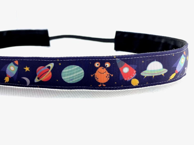 Space 5 ☆ very popular headband. Nonslip sports 7 Handmade width. 8