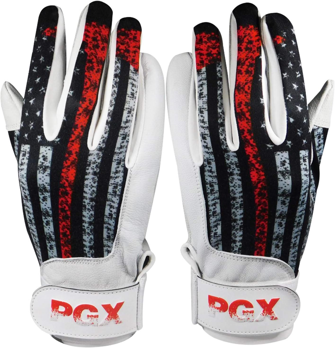 Adult PGX USA Firefighter Baseball Batting Gloves