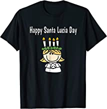 Happy Santa Lucia Day Sweden Norway Scandinavia