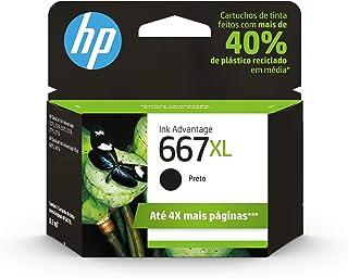 Cartucho HP 667XL Preto Original (3YM81AB)