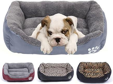 LA VIE Cama Cálida para Mascotas Sofá Cama Nido Suave y Acogedor para Gatos Perros Pet Dog Bed M en Gris