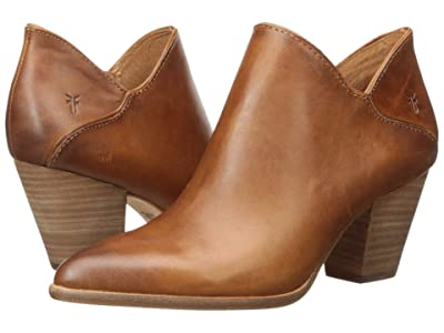Frye Reed Shootie (Caramel Antique Pull Up) Women