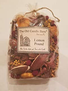 Old Candle Barn Lemon Pound Potpourri - Perfect for Spring, Summer, Fall, and Winter Decoration or Bowl Filler