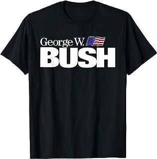 George W Bush For President Vintage Campaign T-Shirt