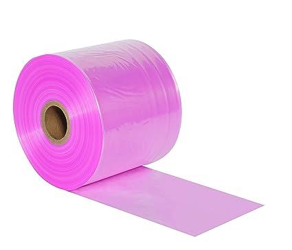 PTAS0802 2 mil Thick Aviditi Polyethylene Anti-Static Tubing Roll 2150 X 8 Pink