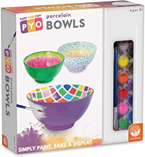 MindWare Paint Your Own Porcelain: Bowls Game