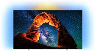 Philips 65OLED803/12 - Televisor Ambilight Smart TV de 65 pulgadas con 4K UHD, P5 Perfect Picture Engine, Ultra HD Premium, 99 % Wide Color Gamut y Android TV